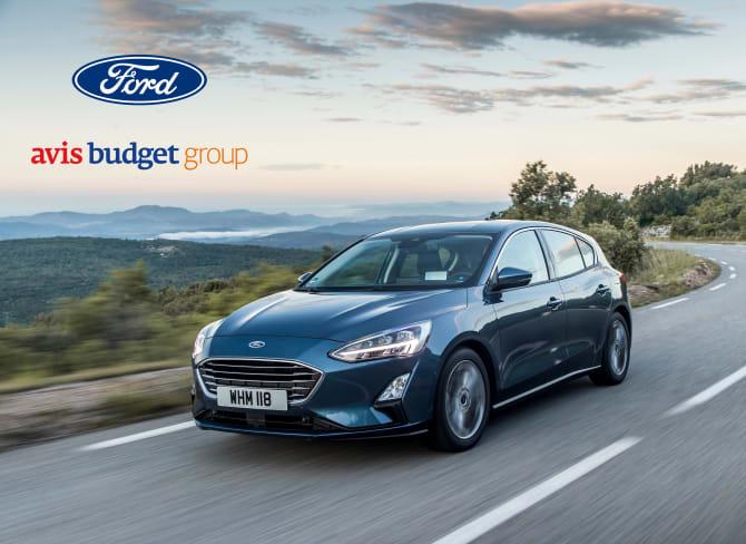 Avis Budget Group og Ford fornyer bilutleie i Europa